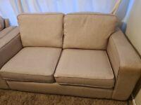 sofa set with foot stool 2 big double size sofa