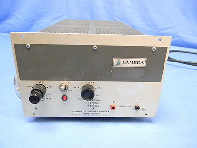Lambda Lh125a Dc Power Supply 0-40v 0-3a Load Tested