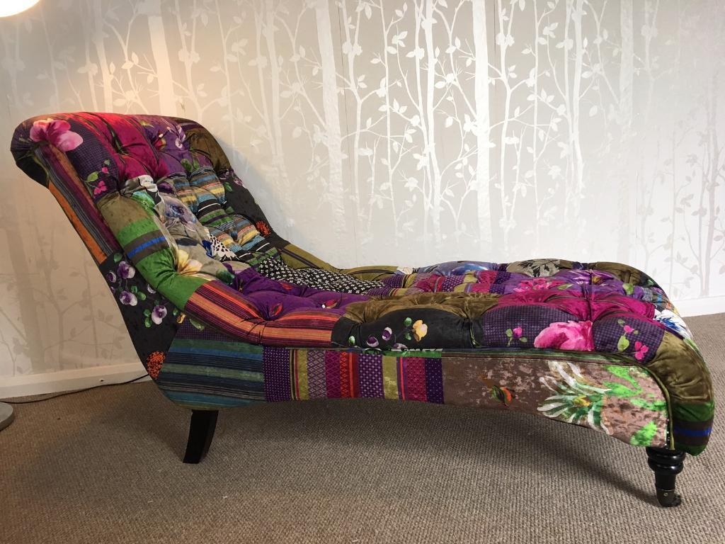 Anna scroll luxury chesterfield style chaise lounge | in Wollaton ...