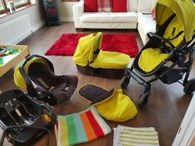 Graco Evo complete travel system.
