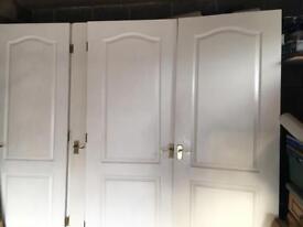 7 internal 2 panel doors