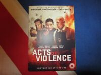 Acts Of Violence DVD 2018 Bruce Willis New Release