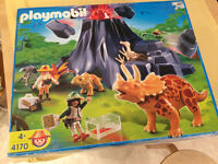 Playmobil 4170 - Dinosaur with Vulcano Set