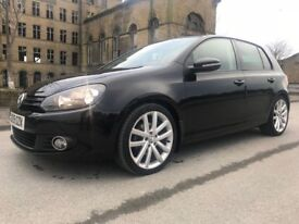 VW GOLF 2.0 GT TDI, BLACK, FSH, FULLY LOADED, EXCELLENT CONDITION