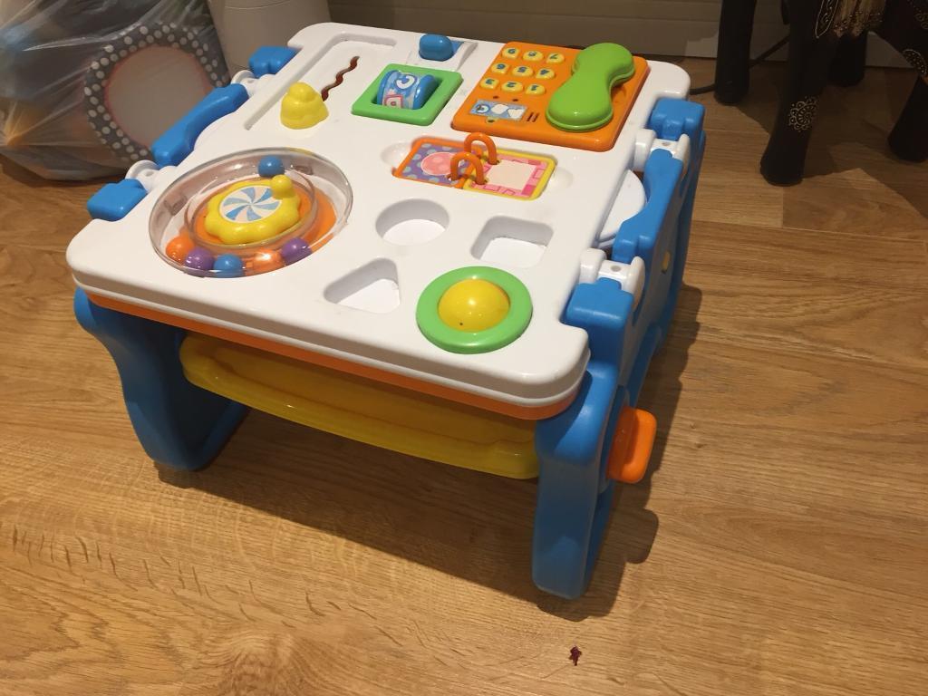 Baby stuff, changing mat, toys
