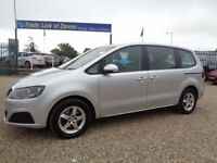 SEAT ALHAMBRA 2.0 TDI Ecomotive CR S 5dr (silver) 2012