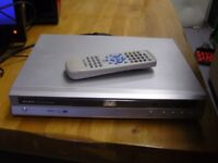 Alba DVD Player Silver with Remote