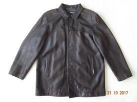 Ben Sherman Leather Coat