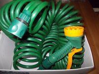 Extending garden hose very good condition