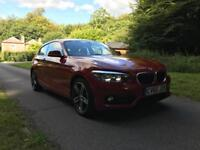 2015 BMW 116d SPORT FULL BMW service history previously damaged
