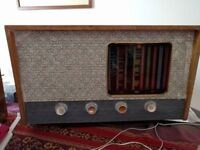 Valve Radio 1954 Pye 445U . All working.