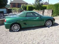 MG TF 160 2002 Ideal Project Car For Sale