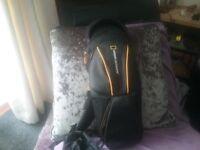 Tripod bag and tripod