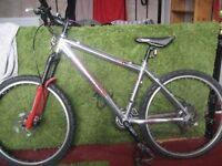 "Orange Evo 4 Limited Edition (2007) Aluminium Mountain Bike 17"" Frame"