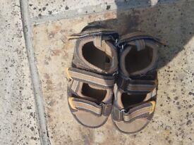 Boys tan waterproof sandals