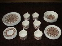 29 Piece Ironstone Tableware Set