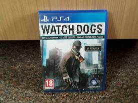 WATCH DOGS PS4 game