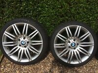 BMW M3 WHEELS AND TYRES