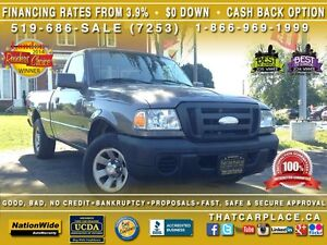 2009 Ford Ranger XL-$44Wk-Short Box-Box Liner