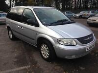 2004 CHRYSLER VOYAGER TOURING CRD SILVER 7 SEATER