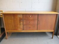 VINTAGE THREE 3 DRAWER SIDEBOARD WITH CUTLERY DRAWER FREE DELIVERY
