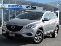 2014 Mazda CX-9 GSL-LEATHER-SUNROOF-HEATED SEATS-LEATHER