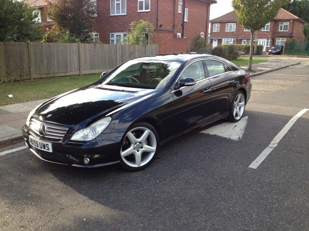 mercedes cls 500 amg bs 2006 82000 in hayes london gumtree. Black Bedroom Furniture Sets. Home Design Ideas