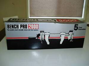 BRAND NEW BENCH PRO 2000 VISE & CLAMP SYSTEM & DRILL PRESS Prospect Prospect Area Preview