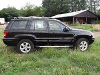 Jeep Grand Cherokee Limited XS Factory sat nav