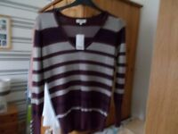Selection of new with labels ladies jumpers size 14