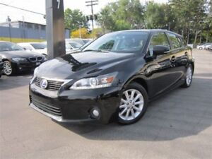 2012 Lexus CT 200h HYBRID/LEATHER/ONE OWNER/115KMS !!!