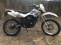 2014 White Knuckle 125 enduro