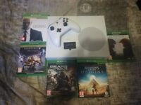Xbox One S (500gb) With 6 games