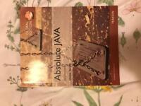 Absolute java book