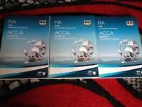 ACCA F1, F2, F3 books