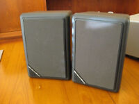 MORDAUNT-SHORT CS-1 COMPACT SHEILDED MAGNETS SPEAKERs