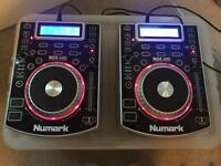 Numark ndx400 cdj x2 (dj decks, dj equipment)