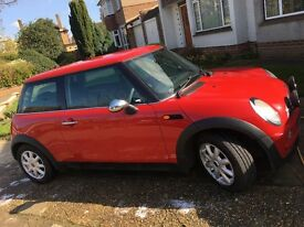 2003 MINI ONE, 3 dr, Manual, Red