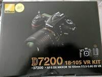 Nikon D7200 + 18-105 VR KIT