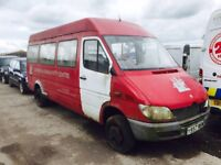 Mercedes Sprinter 413cdi mini bus - Parts Available