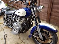 Kawasaki SP1000 Ex CHP police bike from California with the heel and toe shifter
