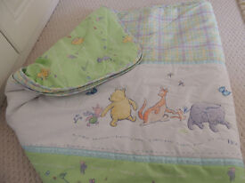 Winnie the Pooh Nursery Bedding Set & Curtains