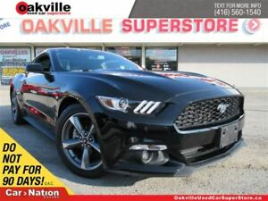 2017 Ford Mustang V6 | 6 SPEED M/T | B/U CAM | BLUETOOTH | LOW K