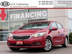 2016 Kia Forte LX+ | Bluetooth | Cruise | Heated Seat