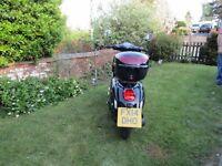 WK 50cc moped full m.o.t.