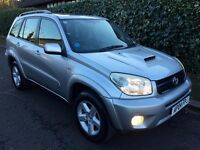 2004 TOYOTA RAV4 XT3 D-4D ONE OWNER FROM BRAND NEW , DIESEL , SERVICE HISTORY