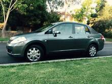 2008 Nissan Tiida Auto Limited Low Ks Logbooks Long Rego 4 Cyl A1 Meadowbank Ryde Area Preview