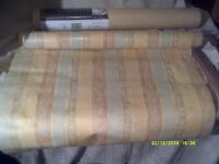 "SIX UNOPENED CROWN PATTERNED WALLPAPER >< <> >< ONLY £25 FOT THE "" 6 "" ROLLS +++++"