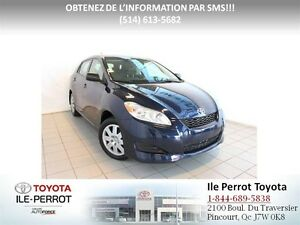2012 Toyota Matrix GROUPE COMMODITÉ, A/C, GR ÉLEC, CRUISE