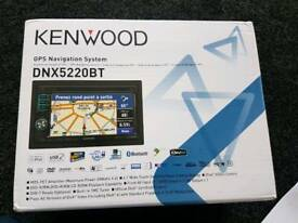 CAR STEREO DOUBLE DIN TOUCH SCREEN BRAND NEW DNX-5220BT